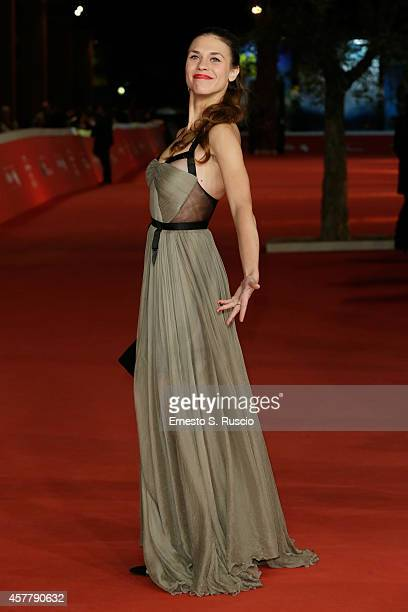 Ana Ularu attends the 'Index Zero' Red Carpet during the 9th Rome Film Festival on October 24 2014 in Rome Italy