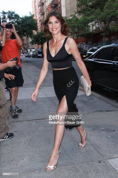 Ana Ularu is seen on July 11 2018 in New York City