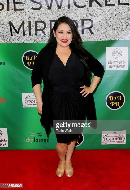 Ana Vergara attends Issie Swickle Celebrates the Release of Her New Single Mirror at The Industry Loft Space on April 18 2019 in Hollywood California