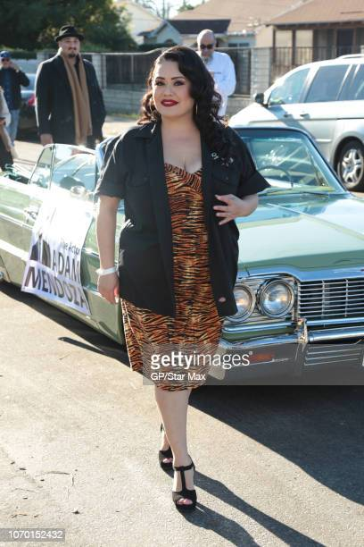 Ana Vergara is seen on December 8 2018 in Los Angeles CA