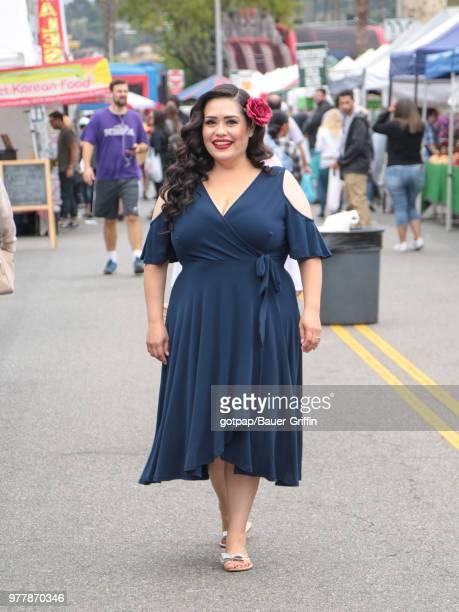 Ana Vergara is seen on June 17 2018 in Los Angeles California