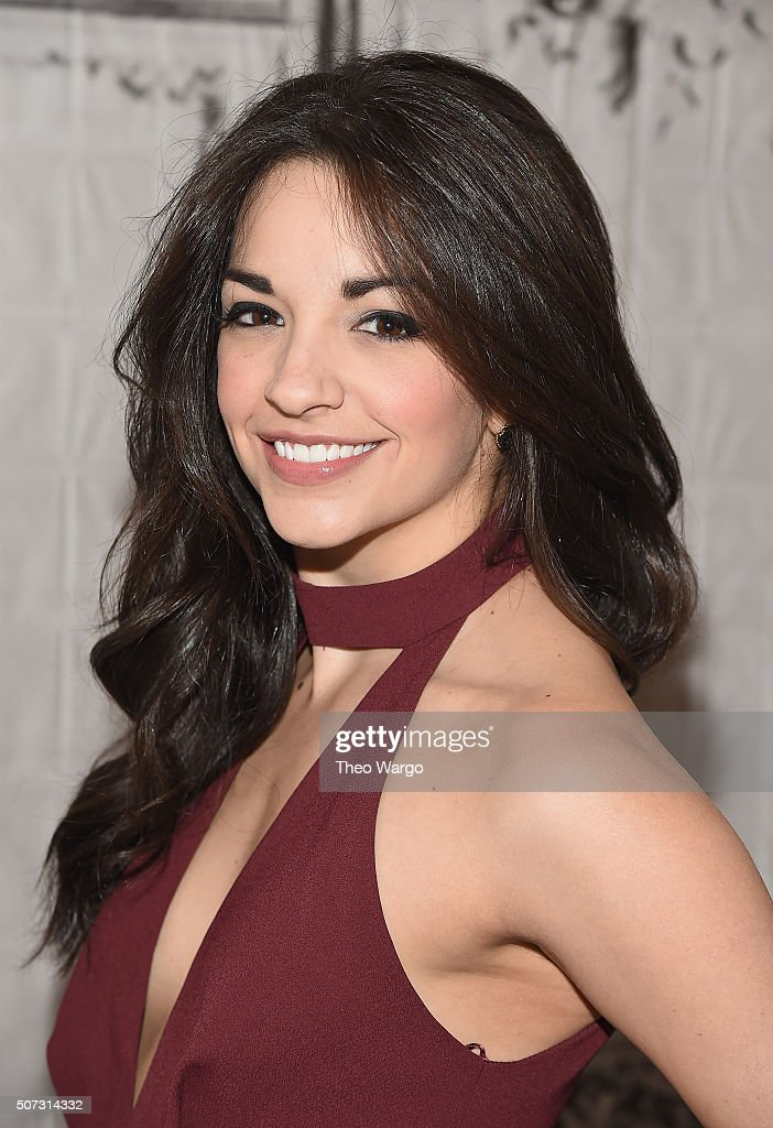 Ana Villafañe attends AOL BUILD series at AOL Studios In New York on January 28, 2016 in New York City.