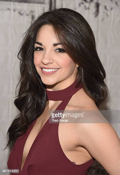 Ana Villafañe attends AOL BUILD series at AOL Studios In New York on January 28 2016 in New York City