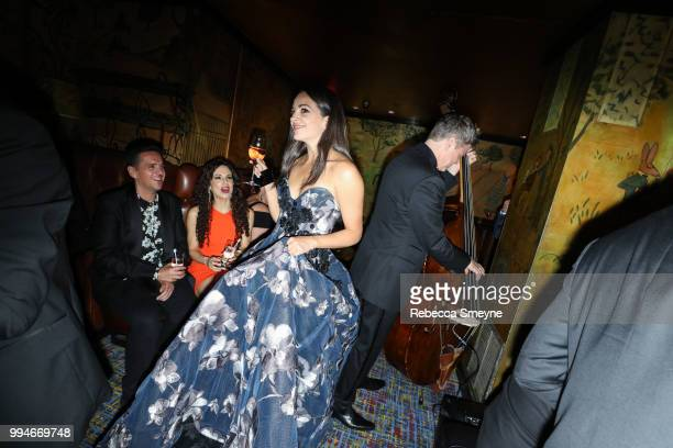 Ana Villafañe attends the 10th Annual OM Tony Awards party at the Carlyle on June 11 2018 in New York New York