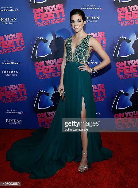 Ana Villafane attends 'On Your Feet' Broadway Opening Night after party at Marquis Theatre on November 5 2015 in New York City