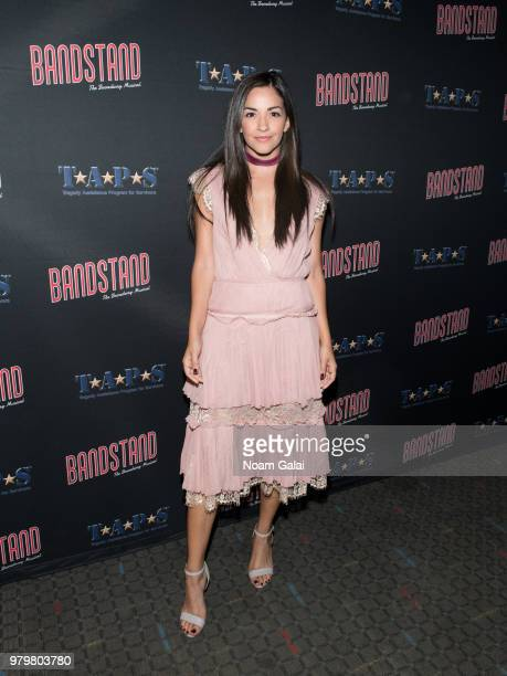 Ana Villafane attends the 'Bandstand The Broadway Musical On Screen' New York premiere at SVA Theater on June 20 2018 in New York City