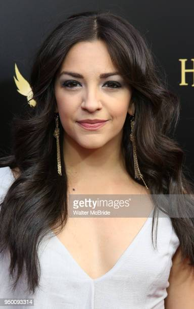 Ana Villafane attends the Broadway Opening Day performance of 'Harry Potter and the Cursed Child Parts One and Two' at The Lyric Theatre on April 22...