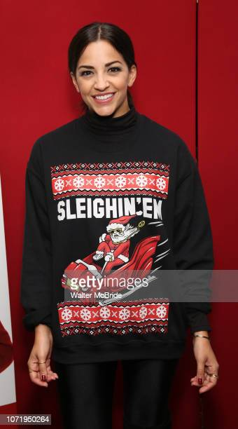 Ana Villafane attends the Opening Night After Party for 'Ruben Clay's First Annual Christmas Show' on December 11 2018 at The Copacabana Times Square...