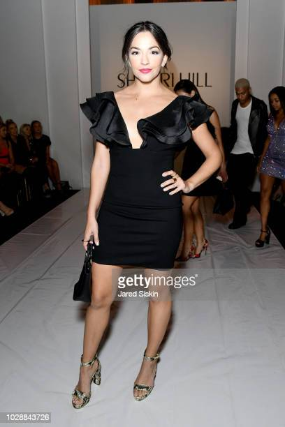 Ana Villafane attends the Sherri Hill Spring 2019 NYFW at Gotham Hall on September 7 2018 in New York City