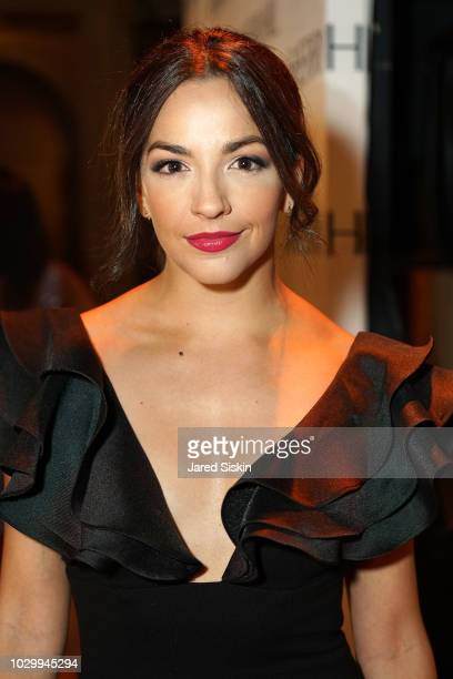Ana Villafane attends the Sherri Hill Spring 2019 NYFW Backstage at Gotham Hall on September 7 2018 in New York City