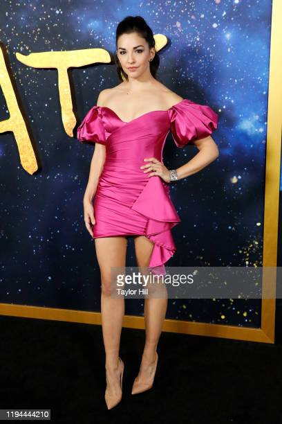 Ana Villafane attends the world premiere of Cats at Alice Tully Hall Lincoln Center on December 16 2019 in New York City
