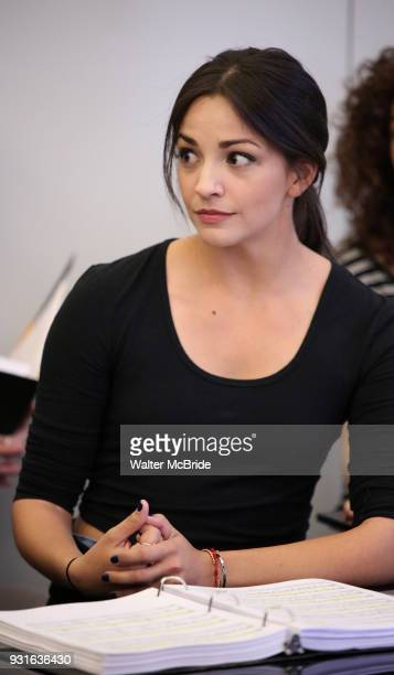 Ana Villafane during the Broadway Center Stage Rehearsal for 'In the Heights' on March 13 2018 at Baryshnikov Arts Center in New York City