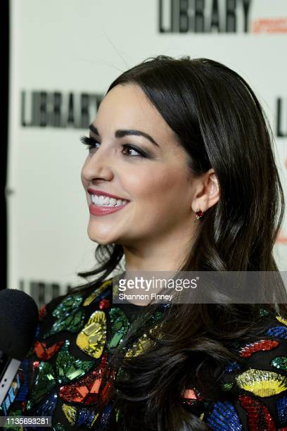 Ana Villafane from the Broadway cast of 'On Your Feet' on the red carpet at the 2019 Gershwin Prize Honoree's Tribute Concert at DAR Constitution...