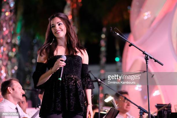 Ana Villafane performs onstage during Chrome Hearts Baccarat celebrate The Miami Design District with Jesse Jo Stark Mary Anne Huntsman The Miami...