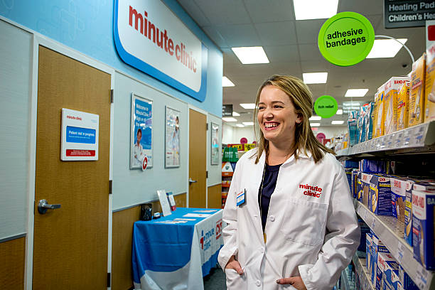 cvs minute clinic pictures getty images