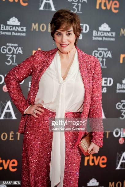 Anabel Alonso attends Goya Cinema Awards 2017 at Madrid Marriott Auditorium on February 4 2017 in Madrid Spain