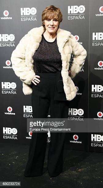 Anabel Alonso attends the HBO Spain PresentationPremiere at Florida Retiro on December 16 2016 in Madrid Spain