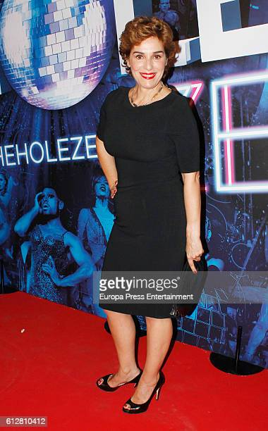 Anabel Alonso attends 'The Hole Zero' premiere at Calderon Theater on October 4 2016 in Madrid Spain