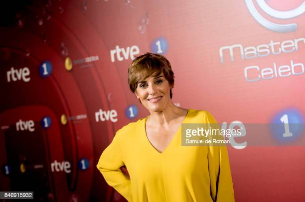 Anabel Alonso during 'MasterChef Celebrity' 2 presentation on September 14 2017 in Madrid Spain