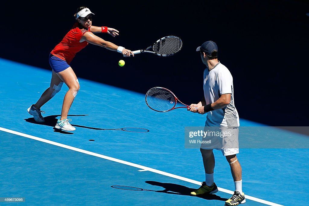 2014 Hopman Cup -  Day 2