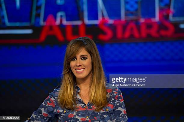 Anabel Pantoja attends 'Levantate All Star' photocall at Estudias Picasso on April 27 2016 in Madrid Spain