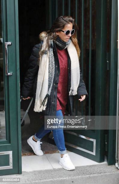Anabel Pantoja is seen on February 1 2017 in Madrid Spain