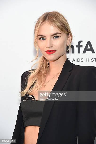 Anabella attends the amfAR generationCure Solstice 2016 on June 21 2016 in New York City