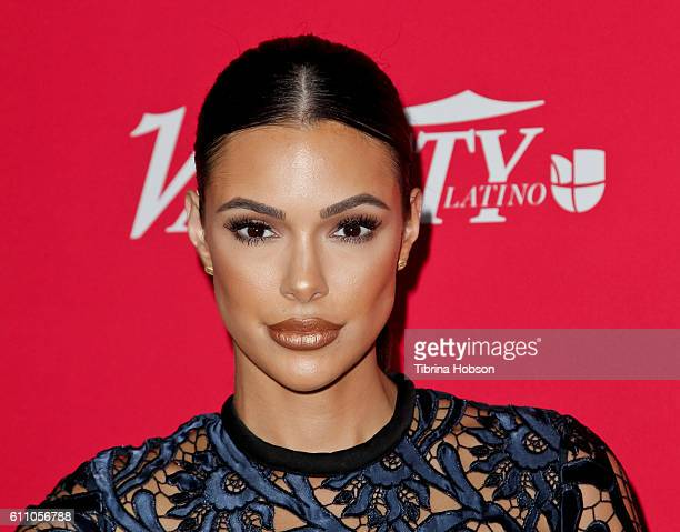 Anabelle Acosta attends Variety's 10 Latinos to watch event at The London West Hollywood on September 28 2016 in West Hollywood California