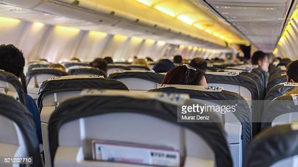 Anadolu Jet aereo vista interna.