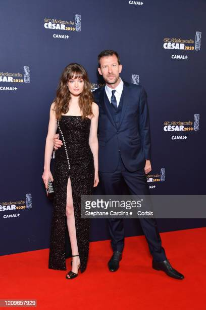 Anaelle Duguet and guest arrives at the Cesar Film Awards 2020 Ceremony At Salle Pleyel In Paris on February 28 2020 in Paris France