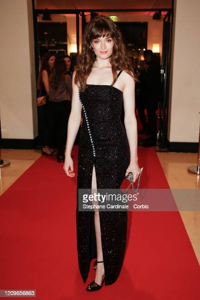 Anaelle Duguet arrives at the Cesar Film Awards 2020 Ceremony At Salle Pleyel In Paris on February 28 2020 in Paris France