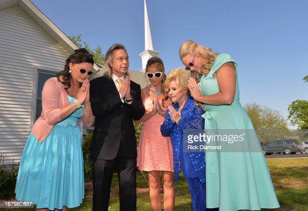 Anagleena Presley Jim Lauderdale Ashley Monroe Brenda Lee and Miranda Lambert on the set just in time for the release of their sophomore album Annie...