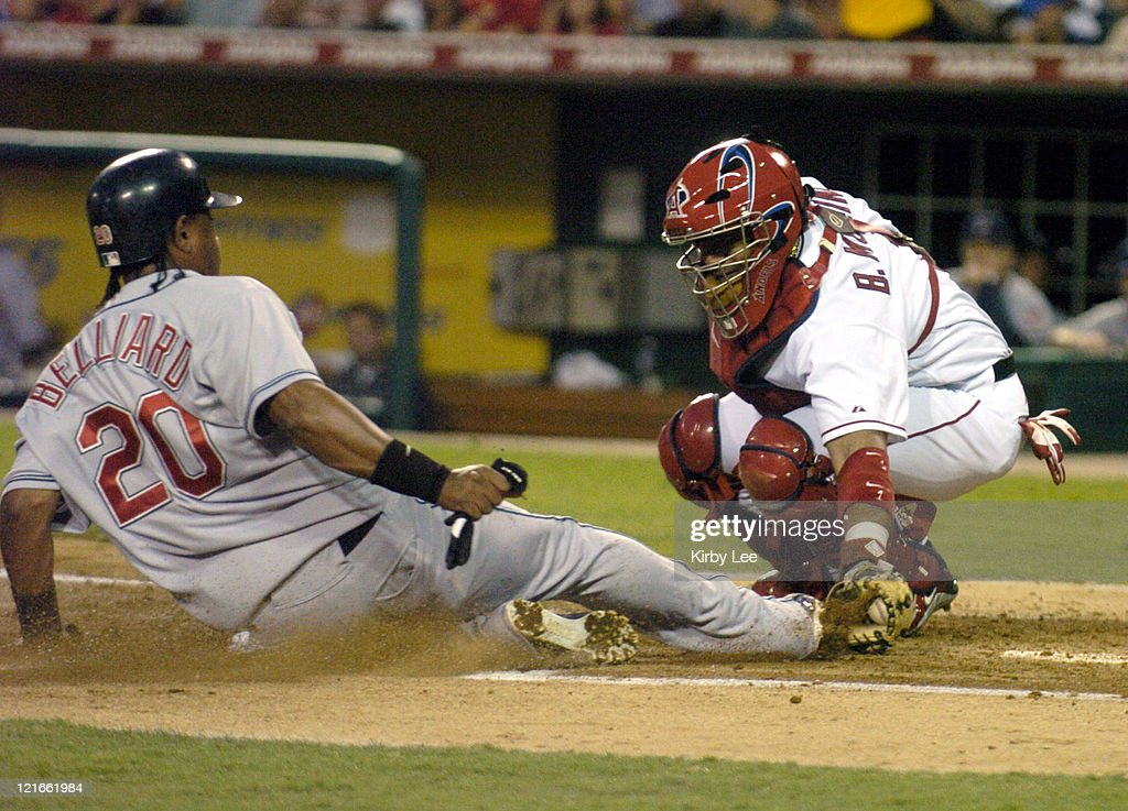 Cleveland Indians vs Anaheim Angels - July 19, 2004