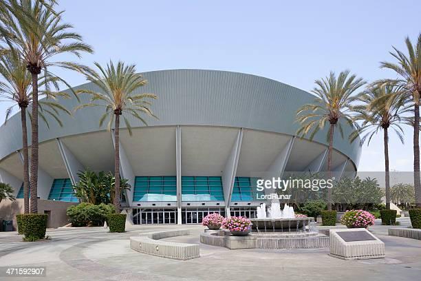 anaheim arena - anaheim californië stockfoto's en -beelden
