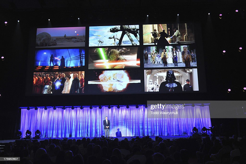 The Walt Disney Company's Coverage Of The D23 Expo 2013 : Nachrichtenfoto