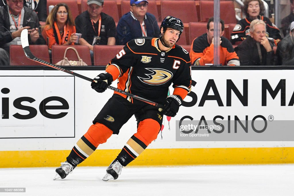 NHL: SEP 26 Preseason - Kings at Ducks : News Photo