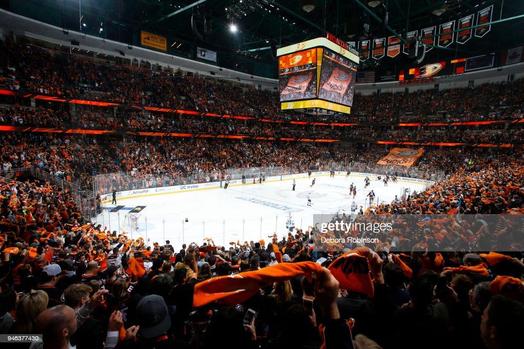 buy online ccf5c 27b0d San Jose Sharks v Anaheim Ducks - Game Two   News Photo
