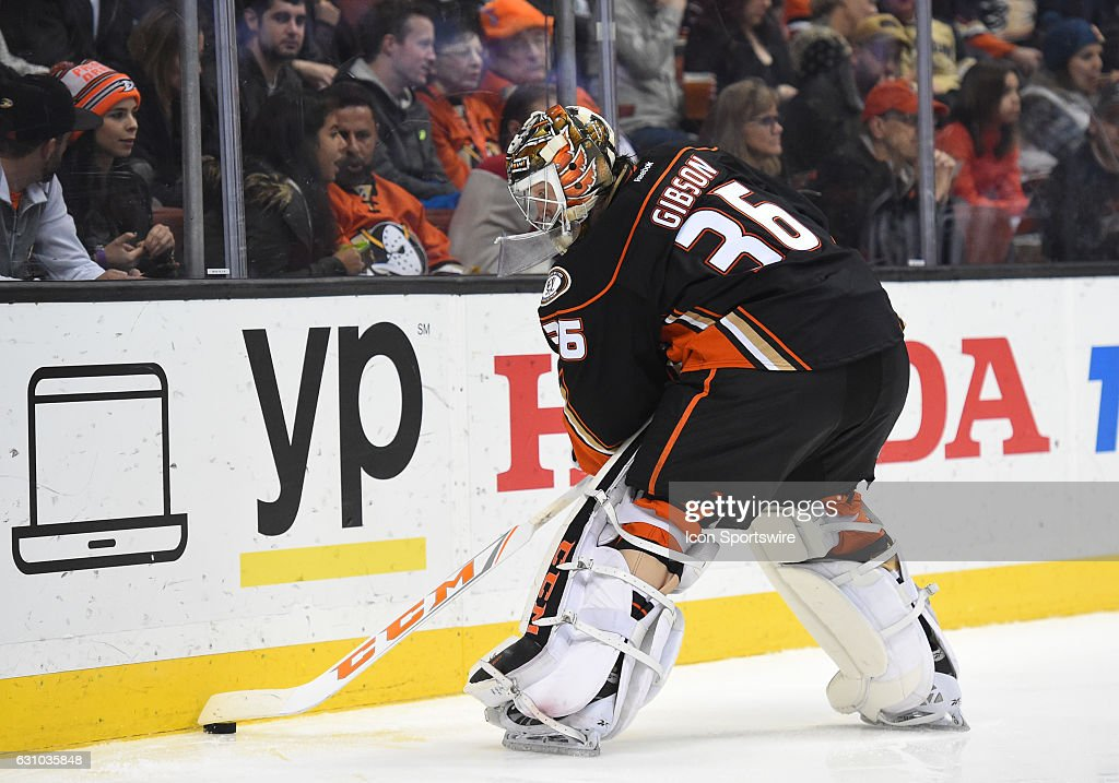 NHL: JAN 04 Red Wings at Ducks : News Photo