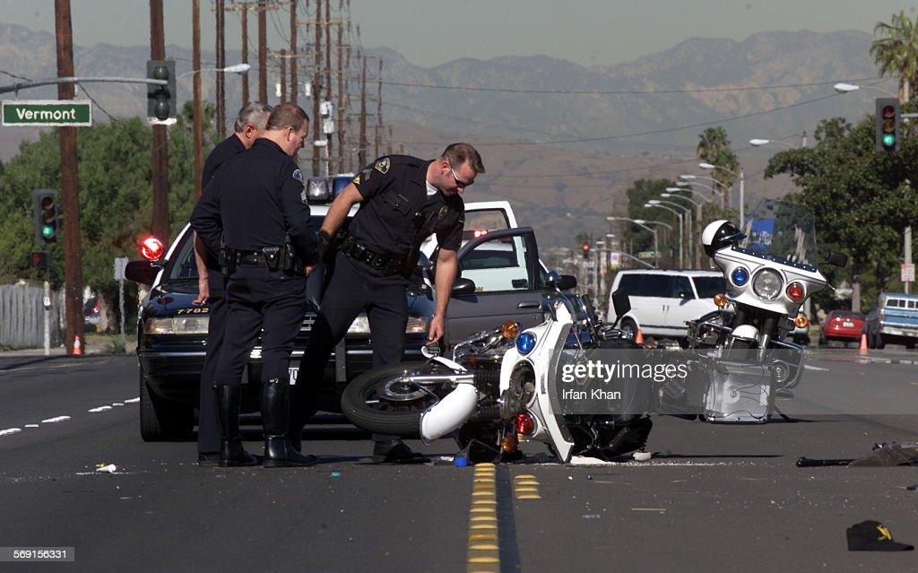 Accident In Anaheim Yesterday