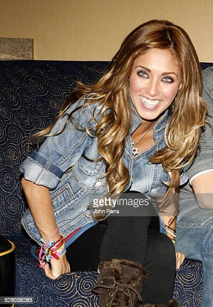 Anahi from RBD Rebelde during Press Conference with RBD Rebelde in South Beach October 17 2006 in Miami Florida United States