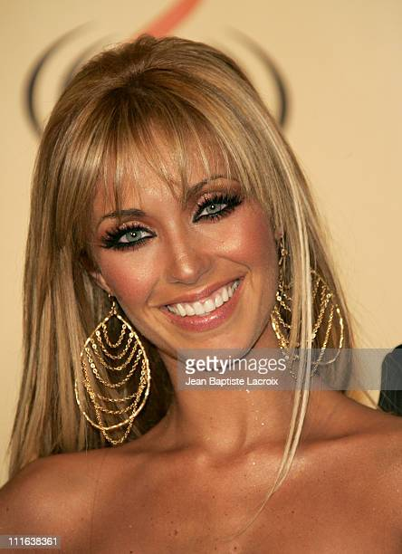 Anahi of 'Rebelde RBD' during 2006 Premio Lo Nuestro Press Room at American Airlines Arena in Miami United States