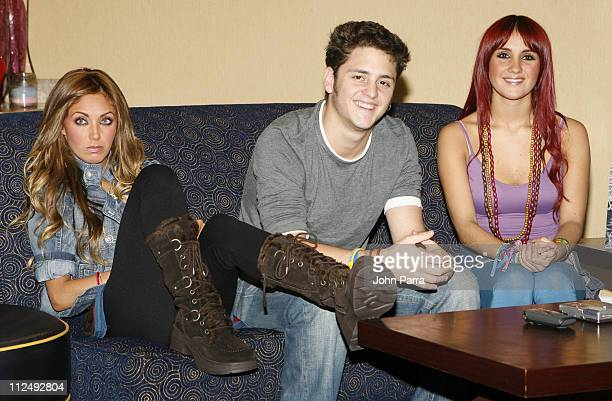 AnahiChristopher and Dulce Maria from RBD Rebelde