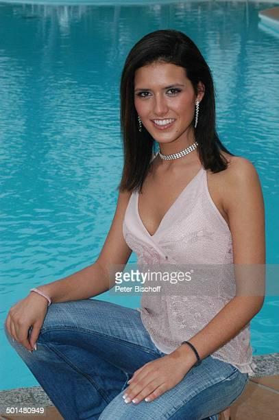 AnahiElena Schussmüller Hotel Dunas La Canaria Maspalomas Insel Gran Canaria Kanarische Insel Spanien Europa Pool Model Schönheitskönigin Promi BB...