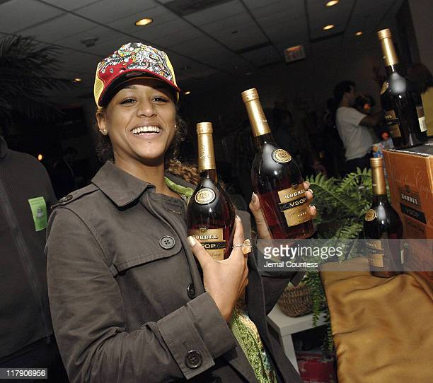 Anais at the Korbel VSOP Gift Station during The 7th Annual Latin GRAMMY Awards Backstage Lounge by Distinctive Assets Day 2 at Madison Square Garden...