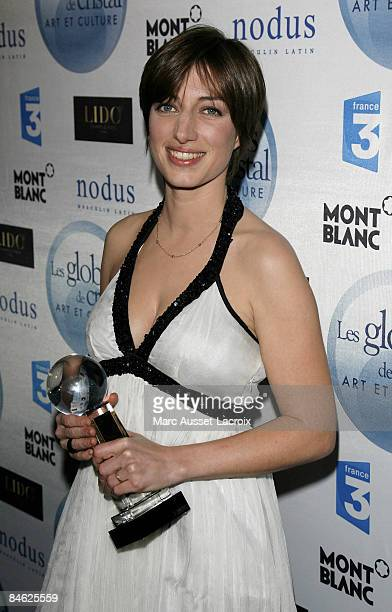 Anais attends Globes of Cristal Awards for Art and Culture on February 2 2009 in Paris France