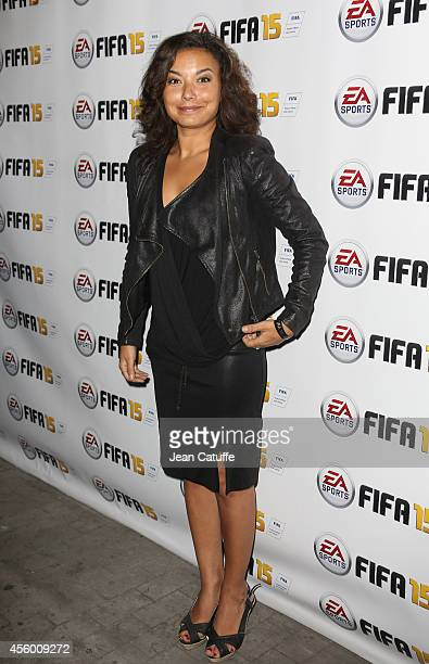 Anais Baydemir attends the new video game 'Fifa 15' party held at l'Opera restaurant on September 22 2014 in Paris France