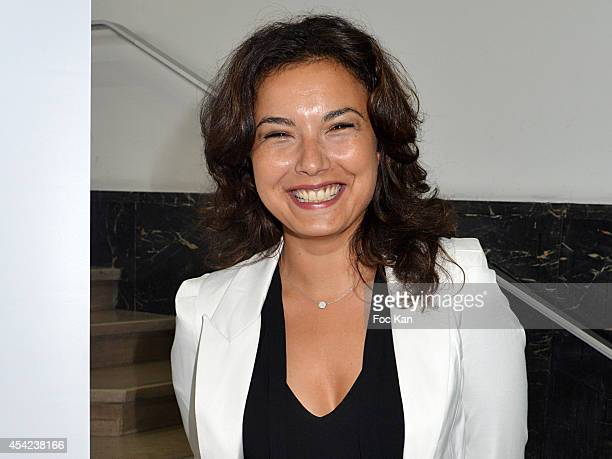 Anais Baydemir attends the 'Rentree de France Televisions' at Palais De Tokyo on August 26 2014 in Paris France