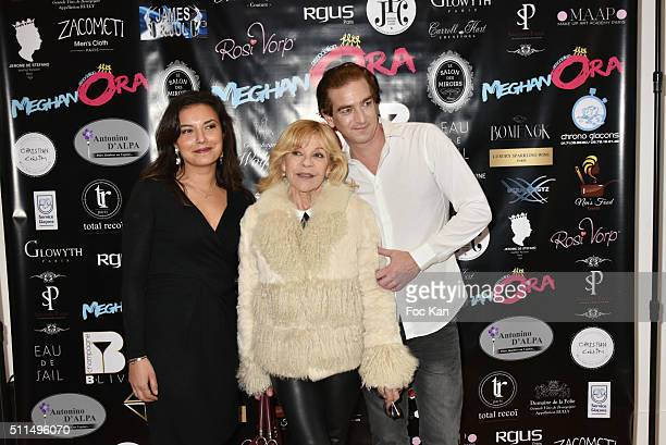 Anais Baydemir singer Nicoletta and Ludovic Chancel attend The Meghanora Auction Fashion Show to Benefit Meghanora Children Care Association...