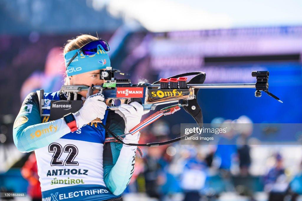 IBU World Championships Biathlon Antholz-Anterselva - Women 15 km Individual Competition : Photo d'actualité