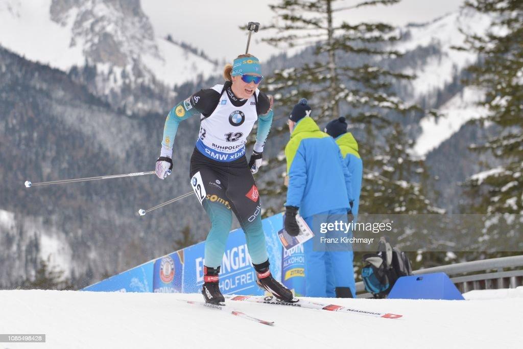 IBU World Cup Biathlon Ruhpolding - Women's Mass Start : Photo d'actualité